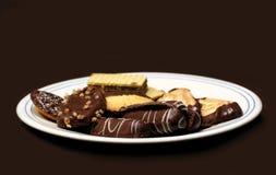 czekoladowe ciastka Obraz Royalty Free