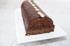 czekoladowe ciasto domowej roboty Zdjęcie Stock