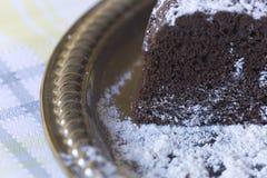 czekoladowe ciasto domowej roboty Obraz Stock