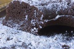 czekoladowe ciasto domowej roboty Fotografia Stock