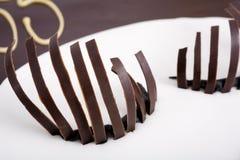 czekoladowe rzęsy obraz royalty free