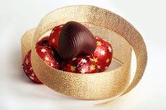 czekoladowe serca zdjęcia stock