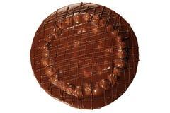 czekoladowe tortowe wiśnie obraz royalty free