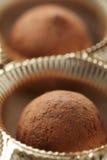 czekoladowe trufle obraz royalty free