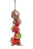 czekoladowe truskawki Obraz Stock