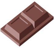 czekoladowego 2 bloku Obrazy Stock