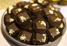 Czekoladowego cukierku bonbons Fotografia Royalty Free