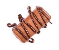 Czekoladowego cukierku polana czekolada Zdjęcie Stock