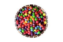 Czekoladowego cukierku tort zdjęcia stock