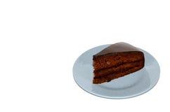 Czekoladowego Fudge tort Zdjęcia Stock