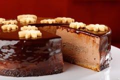 Czekoladowego mousse tort Obraz Stock