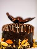 Czekoladowego torta ciasto Obrazy Royalty Free