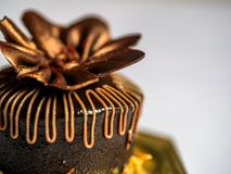 Czekoladowego torta ciasto Zdjęcia Stock