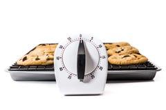 Czekoladowego układ scalony ciastka Obrazy Royalty Free