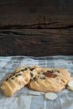 Czekoladowego układ scalony ciastko Zdjęcie Royalty Free