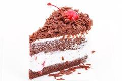 Czekoladowego układu scalonego tort Obrazy Royalty Free