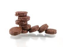 czekoladowi ciastka Fotografia Stock