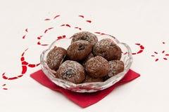 czekoladowi ciastka fotografia royalty free