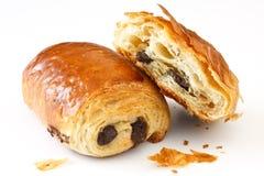 Czekoladowi croissants Fotografia Stock