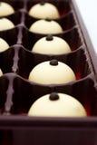 czekoladowi cukierki Zdjęcie Royalty Free