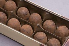 czekoladowi cukierki Obrazy Royalty Free