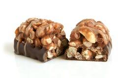 czekoladowi cukierki fotografia royalty free