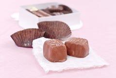 czekoladowi desery obrazy royalty free