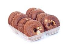 czekoladowi donuts Zdjęcia Stock
