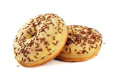 Czekoladowi donuts Zdjęcia Royalty Free