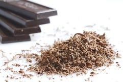czekoladowi golenia Obrazy Stock