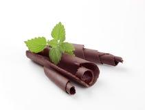 czekoladowi kędziory fotografia stock