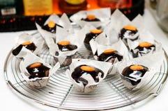 czekoladowi mini muffins Obraz Royalty Free