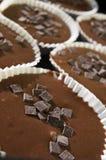 czekoladowi muffins Obraz Royalty Free