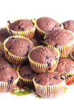 Czekoladowi muffins Obrazy Stock