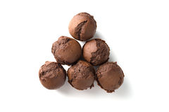 Czekoladowi muffins z rodzynkami Zdjęcie Royalty Free