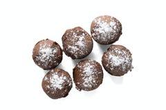 Czekoladowi muffins z rodzynkami Obraz Royalty Free
