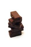 czekoladowi opłatki obraz stock