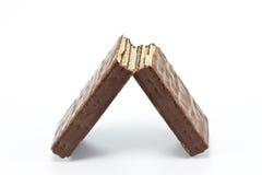 czekoladowi opłatki obrazy royalty free