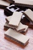 czekoladowi opłatki Fotografia Stock