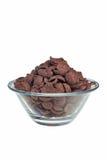 czekoladowi płatki zdjęcia stock