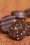 czekoladowi palets zdjęcia stock