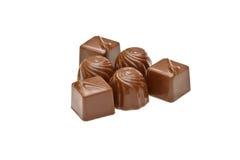 czekoladowi pralines Obraz Royalty Free