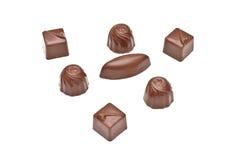 czekoladowi pralines Obraz Stock