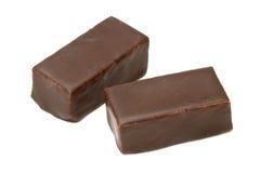 czekoladowi pralines Zdjęcie Royalty Free
