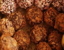 czekoladowi pudełkowaci cukierki Fotografia Stock