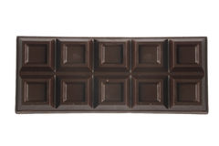 czekoladowy bar ciemności Zdjęcia Stock