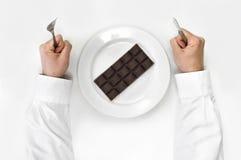 Czekoladowa dieta. Fotografia Royalty Free