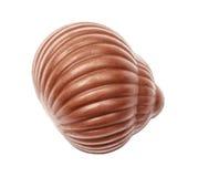 Czekoladowy candie od inkasowego odgórnego widoku Obrazy Stock