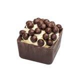 Czekoladowy candie od kolekci z czekoladowymi kroplami Zdjęcia Stock
