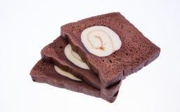 czekoladowy chlebowy czarny biel Zdjęcia Stock